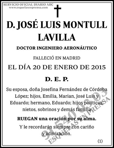 José Luis Montull Lavilla